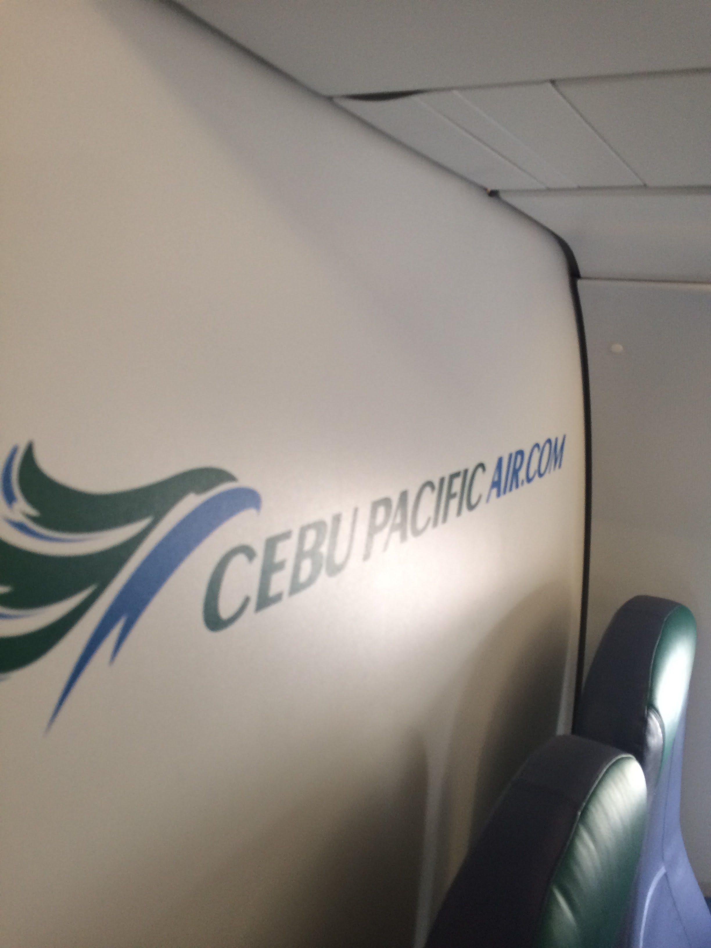 マニラ国際空港から関西国際空港までセブパシフィック航空を利用してみた件