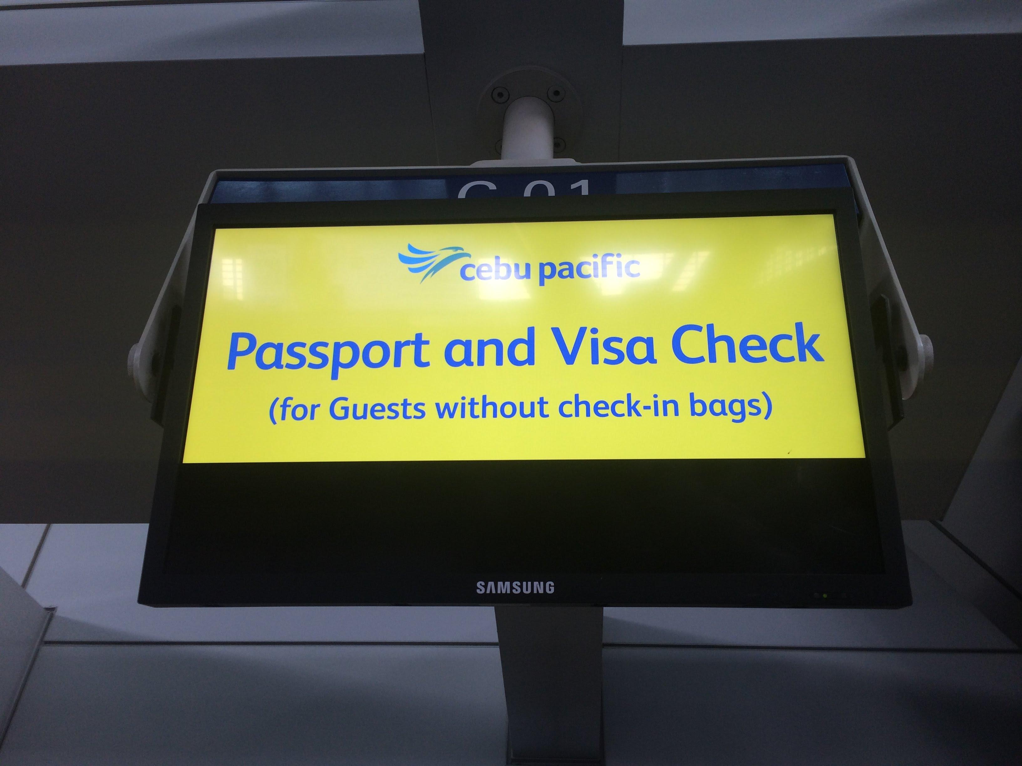 2018年初頭マニラ国際空港から関西国際空港までセブパシフィック航空を利用してみた件