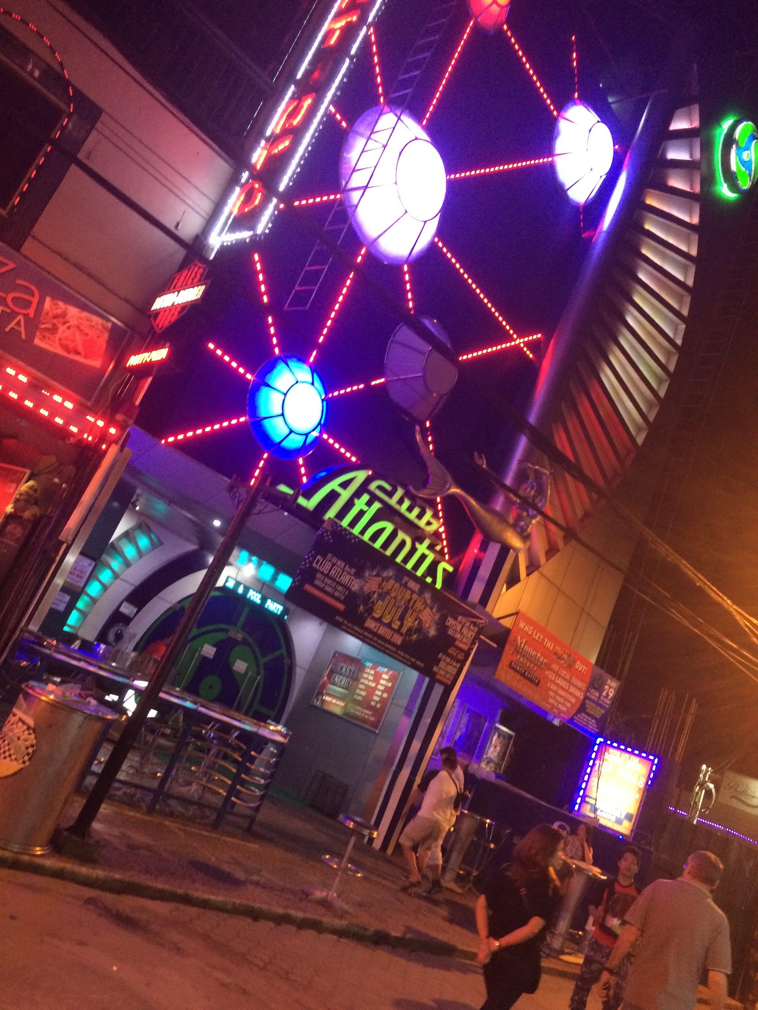 2018年梅雨時期にアンヘレスウォーキングストリートのクラブアトランティス(Club Atlantis)で一悶着あった件