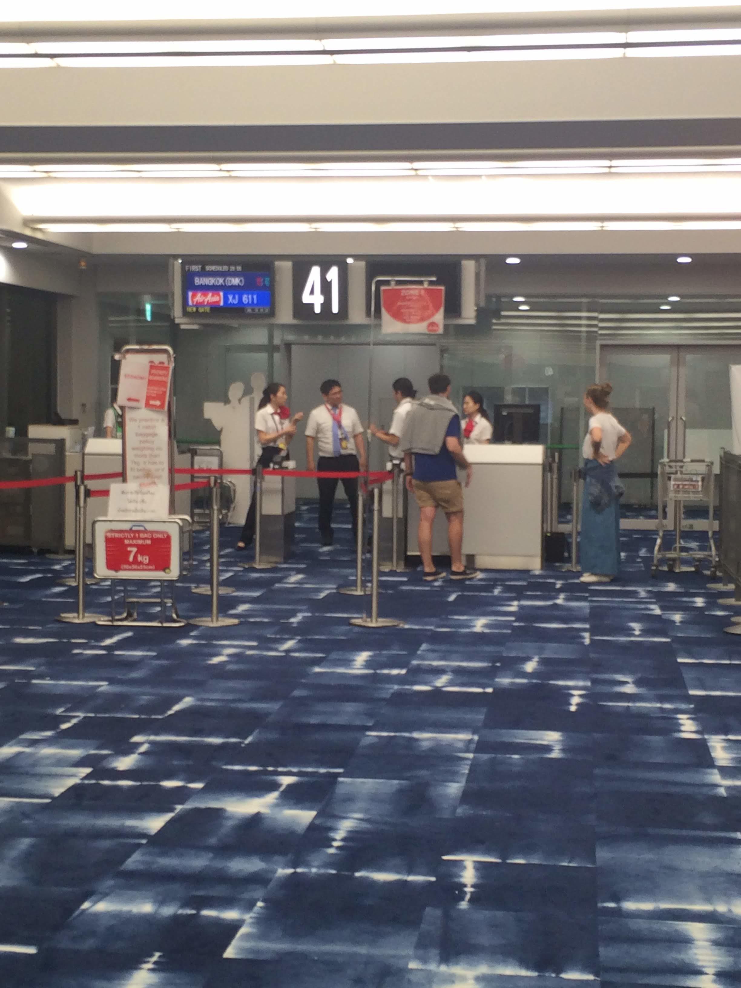 2018年初夏に関西国際空港からドンムアン国際空港までエアアジアXを利用してみた件