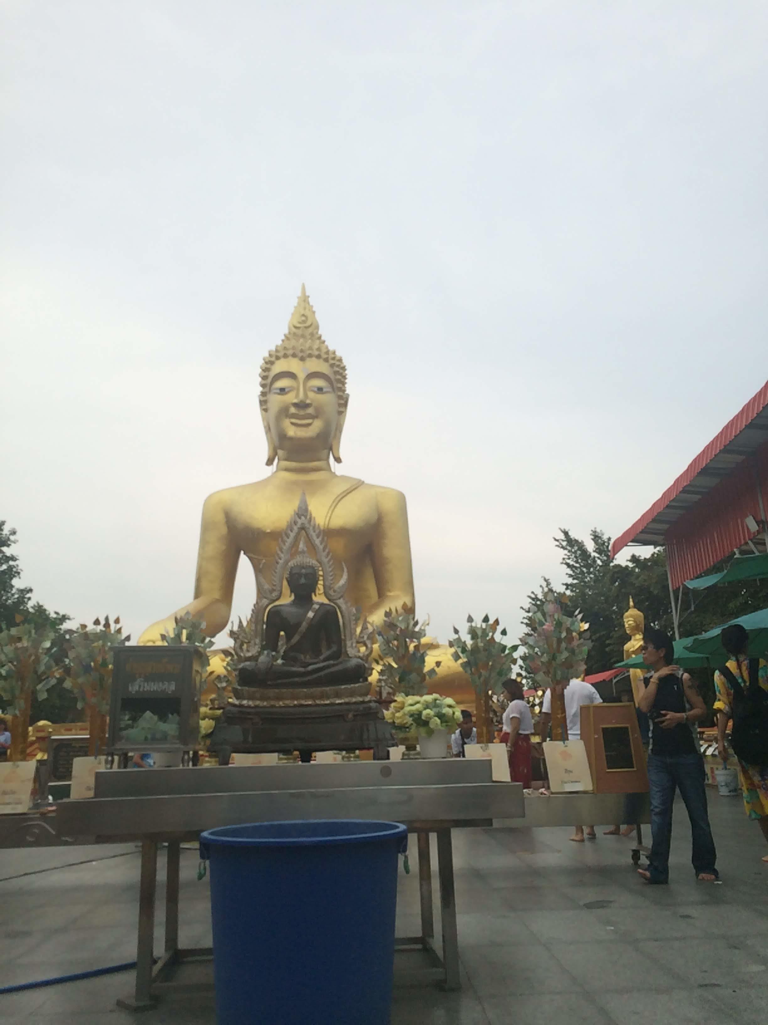 2018年秋に訪れたパタヤでのんびりワット・プラヤイ(Wat Phra Yai)に行ってみた件